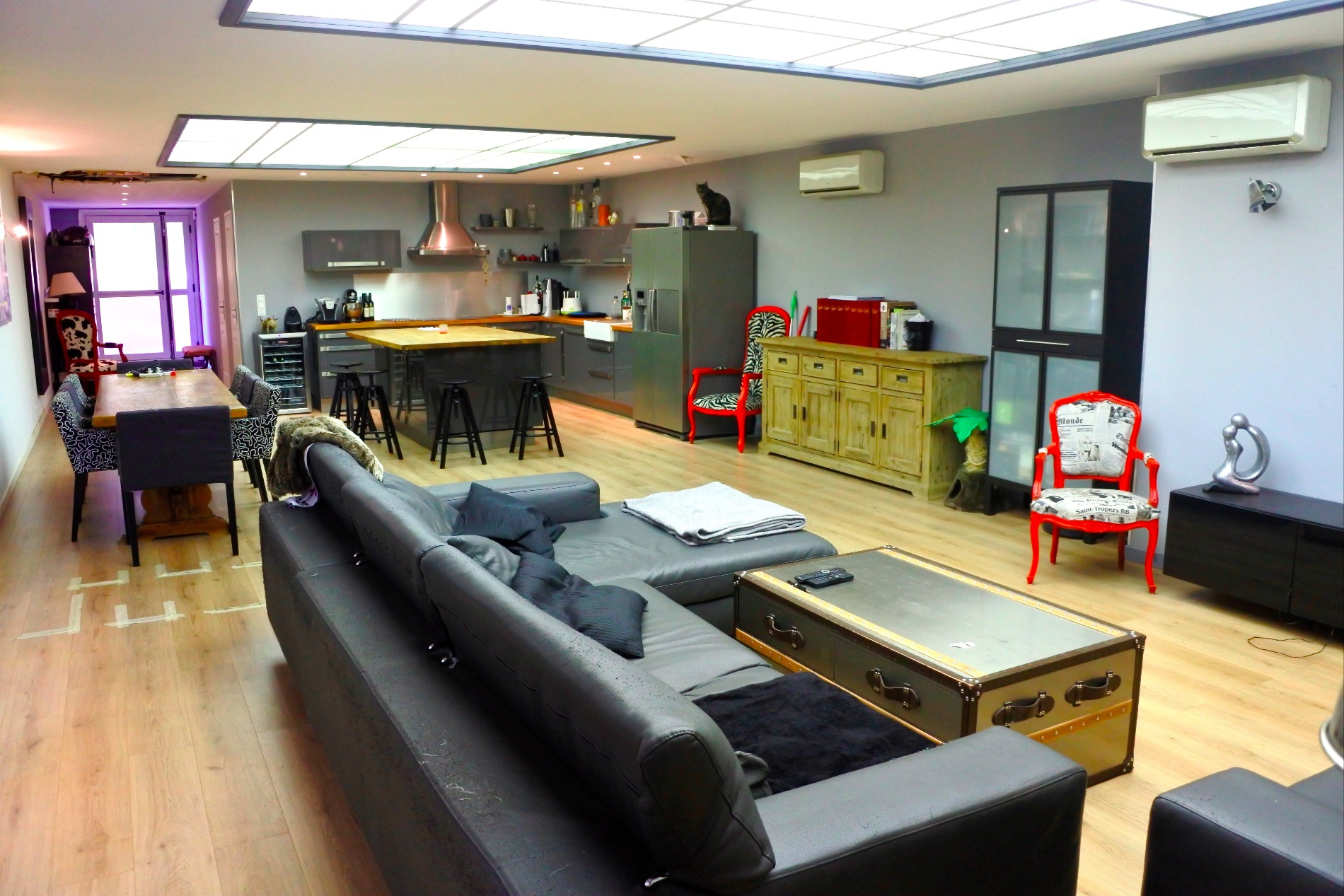 Vente nice rue de france superbe appartement loft 130 m2 for Vente loft france